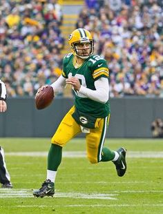 Aaron Rodgers, QB, Packers Baseball opening day?? How about a little football instead