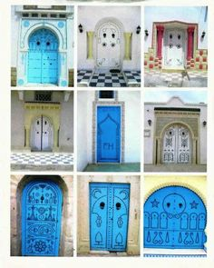 doors of tunisia, 4-05