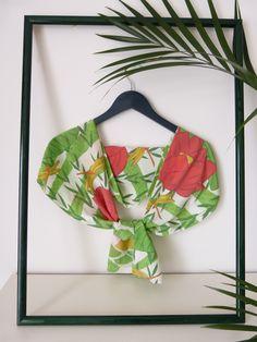 Sensui silk scarf (front) - by Le TANUKI www.etsy.com/shop/LeTanuki