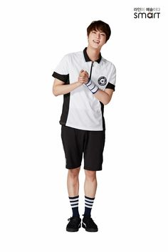 •170320 JIN [BTS x Smart School Uniform]