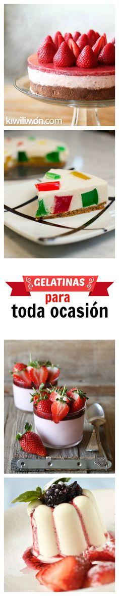 La textura de la gelatina es ligera y su agradable sabor la convierten en un ingrediente único para sorprender con platos novedosos de exquisita presentación.