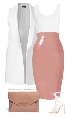 """Plastic"" by efiaeemnxo ❤ liked on Polyvore featuring Yummie by Heather Thomson, Christian Louboutin, Givenchy, sbemnxo and styledbyemnxo"