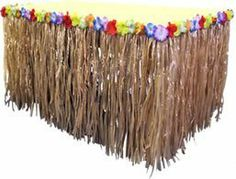 Nylon Tiki Table Skirt (108in x 29in) - Tropical Hawaiian Party Decorations by Partyrama, http://www.amazon.co.uk/dp/B000VO90OM/ref=cm_sw_r_pi_dp_JEKSqb08MKPMN