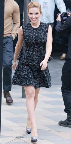 Looks of the Week - Scarlett Johansson from #InStyle