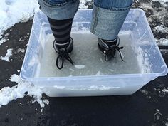 We tested each pair of boots for warmth and waterproofing in a vat of ice cold salt water.