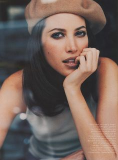Christy Turlington #beret
