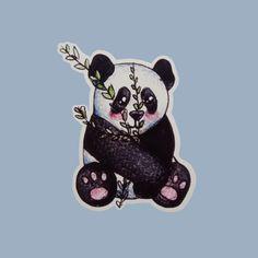 Little Panda, Cute Panda, Minnie Mouse, Disney Characters, Fictional Characters, Bedroom Decor, Platform, Stickers, Shop