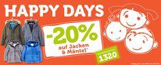 -20% auf alle Jacken & Mäntel. Nur am 12.09.16 Vorteilsnummer: 1320  #vertbaudet #gutschein #sparen #jacken #mantel #kinderjacke #kindermantel #babymantel