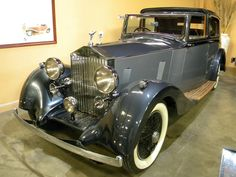 1938 Rolls-Royce 25-30 Sports Sedanca