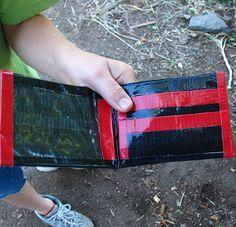 Duct Tape Wallets | AllFreeKidsCrafts.com