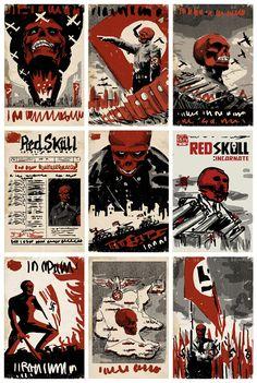David Aja. Red Skull Cover art