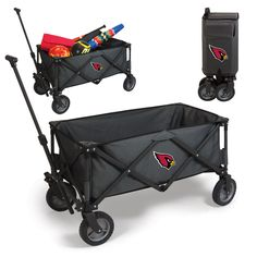 The Arizona Cardinals Adventure Wagon is great for getting gear place to place while tailgating