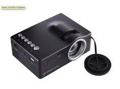 LZCAM G18 MICRO PROJECTOR LZcam G18 Micro projector, support 1080P, 50 Lumens, Native Res 320*180 R&B, 500:1 controst, Lens F=60, 12-66 inches, USB, TF card, AV, HDMI, IR, 3.5mm erphone Tech Gadgets, Electronics, Gadgets