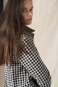 rennes Islington Dress Black Gingham
