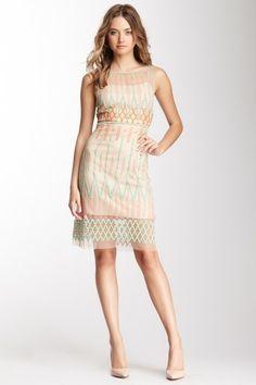 Catherine Malandrino Embroidered Tank Dress on HauteLook