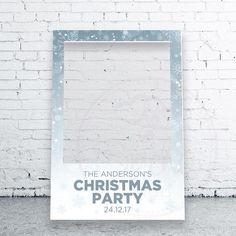 Christmas Selfie Frame Christmas Photo booth Christmas