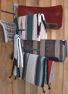 Wall Mount Blanket Rack