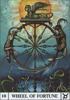 Wheel of Fortune, the Ansata Tarot