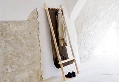 TOP10 | Ten space-saving ideas | Lodelei Coat Hanger, Moormann, 2011 | #designbest
