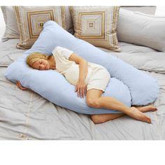 Todays Mom Cozy Comfort Pregnancy Pillow - Sky Blue