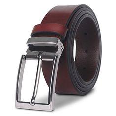 M.R Ceinture Homme Cuir Noir Boucle D ardillon Elégant Perforatrice Ceinture   Amazon.fr  Vêtements et accessoires aae5a52fb5a