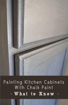 como pintar gabinetes cocina nati con chalk paint