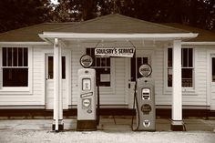 Route 66 - Soulsby Station Pumps Photograph  - Route 66 - Soulsby Station Pumps Fine Art Print