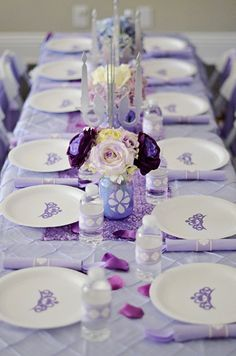 Sofia The First Party Silverware wraps INSTANT DOWNLOAD