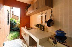แบบห้องครัวไทย ต่อเติมไว้หลังบ้าน