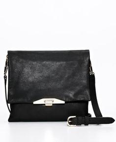 Leather Metro Crossbody Bag