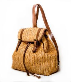 hand woven leather by filomena.