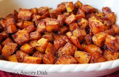 Amee's Savory Dish: Roasted Butternut Squash