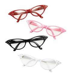 Red Glasses Grease Pink Ladies 1950S Rock N Roll Fancy Dress by Home & Leisure Online (Fancy Dress), http://www.amazon.co.uk/dp/B00BJN38CY/ref=cm_sw_r_pi_dp_3VmHsb18A9963