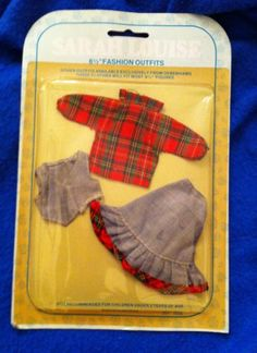 Vintage Sarah Louise doll clothes will fit 6.5 inch dolls 8.51+1.1
