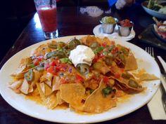 nacho`s bij het hard rock cafe!