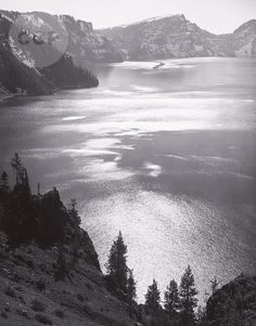 Afternoon Sun, Crater Lake National Park, Oregon