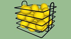 Aramado com laranjas - 3D Warehouse