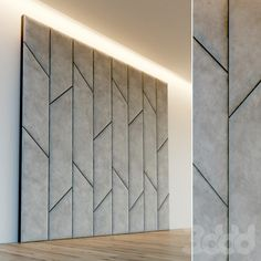 Lcd Wall Design, Wall Tiles Design, Bed Back Design, Bed Design, Bed Headboard Design, Headboards For Beds, Modern Wall Paneling, Panelling, Padded Wall Panels