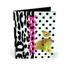 Lace Up Lips Card by Debi Adams - Scrapbook.com