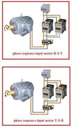 Forward Reverse Three Phase Motor Wiring Diagram Electrical Info