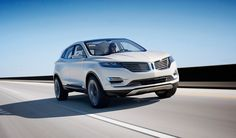 lincoln MKC crossover concept at 2013 NAIAS