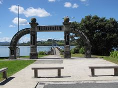 Kohukohu hokianga NZ The Beautiful Country, Always And Forever, New Zealand, Arch, Bucket, Outdoor Structures, Live, World, Travel