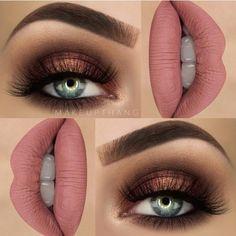 Eye Makeup Tips.Smokey Eye Makeup Tips - For a Catchy and Impressive Look Makeup Goals, Makeup Tips, Beauty Makeup, Hair Makeup, Makeup Ideas, Beauty Tips, Beauty Products, Makeup Inspo, Makeup Products