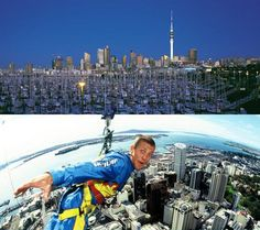 If I ever go to New Zealand, I'm definitely jumping off of the Sky Tower!