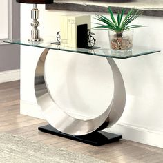 Hokku Designs Caspa Console Table | AllModern Contemporary Furniture,  Contemporary Style, Modern Art,