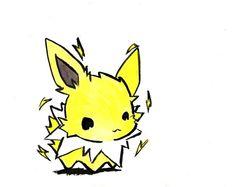 AWWWW CUTE!!!!!! #Pokemon #Jolteon