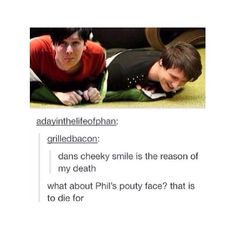 Dan and Phil Tumblr
