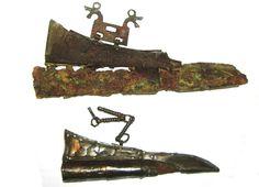 Latvian viking knifes