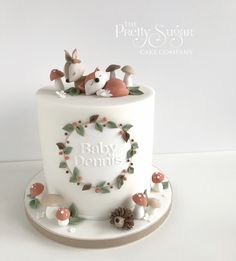 We are a cake company based in Ripponden, West Yorkshire who specialise in bespoke wedding and celebration cakes. Wedding Cake Designs, Wedding Cakes, Luxury Cake, Friends Cake, Cake Stencil, Sugar Cake, Dream Cake, Baby Shower Cakes, Baby Cakes