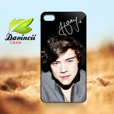 iPhone 4 4s / 5 Case  Harry Styles Cool Style One by DavinciiCase, $14.80